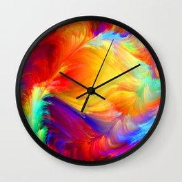 Summer colors Wall Clock