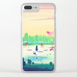 PHAZED PixelArt 5 Clear iPhone Case