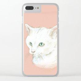 Cutie Catty Clear iPhone Case