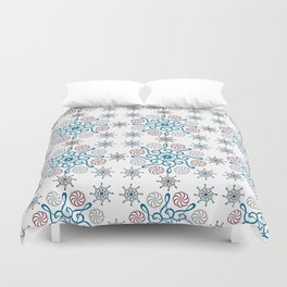 Musical repeating pattern No.2, Collection No.1 Duvet Cover