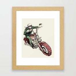 Rider Framed Art Print