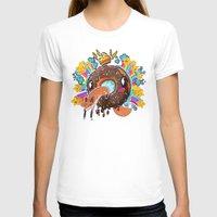 doughnut T-shirts featuring Royal Doughnut by WhereIsChaosPrincess