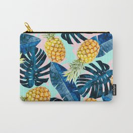 Tropical and exotic pattern painting III Carry-All Pouch