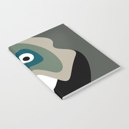 Abstract Mid Century 17 Notebook