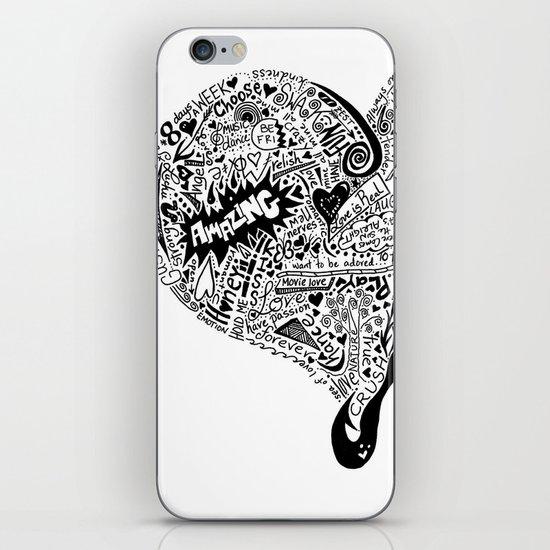 Heartfull iPhone & iPod Skin