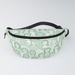 Together Strong - Women Power Watercolor Green Fanny Pack
