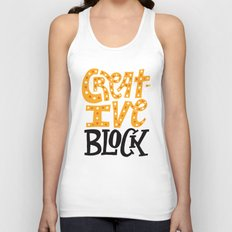 Creative Block Unisex Tank Top