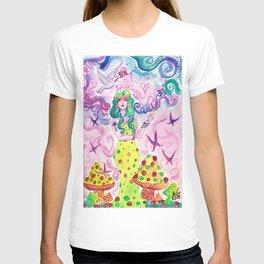 Mushroom Goddess T-shirt
