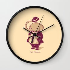 Eleg-phant Wall Clock