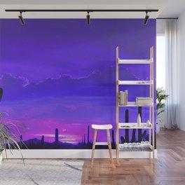 Desert Silhouette Wall Mural