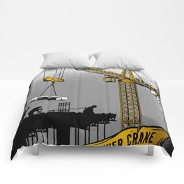 The Power of Tower Crane Comforters