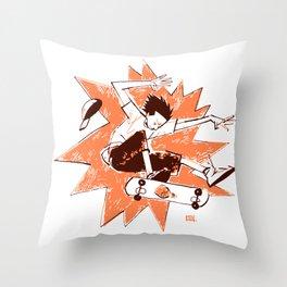 Skater Throw Pillow