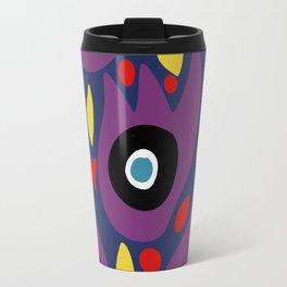 Purple Birds in the Night Illustration Art Travel Mug