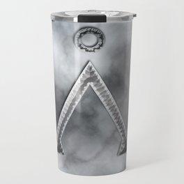 Stargate and smoke Travel Mug