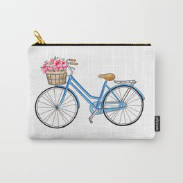 Bicycle art Bicycle print Bicycle wall art Bicycle poster Vintage bicycle art Carry-All Pouch