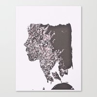 blush Canvas Prints featuring Blush by Jane Lacey Smith