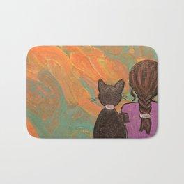 Kitty and me Bath Mat