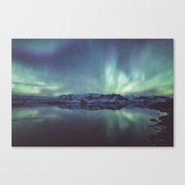 Jokulsarlon Lagoon - Landscape and Nature Photography Canvas Print