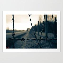 Dachau Concentration Camp Art Print