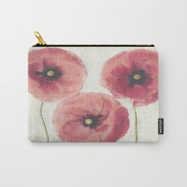 Vintage Poppies  Carry-All Pouch