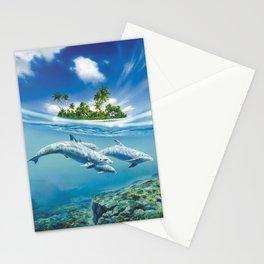 Tropical Island Fantasy Stationery Cards