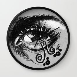 """grayscale"" Wall Clock"