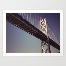 The New Bridge Art Print