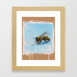 Buzzle-bee Framed Art Print
