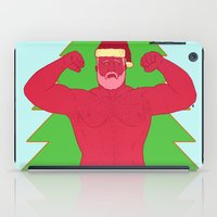 santa iPad Cases featuring Santa by Mavekk