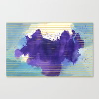 rorschach Canvas Prints featuring Rorschach by Sonia Garcia