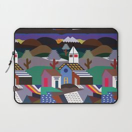 Andean Village Patchwork Tapestry Kilim Laptop Sleeve