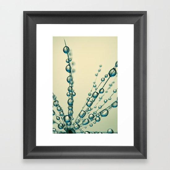 Dandy & Blue Framed Art Print