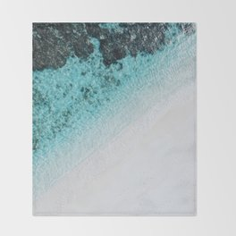 Sea 5 Throw Blanket