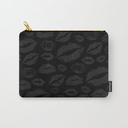 Dark Lips Carry-All Pouch
