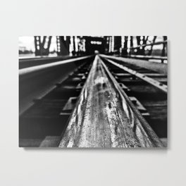 Black Diamond Metal Print