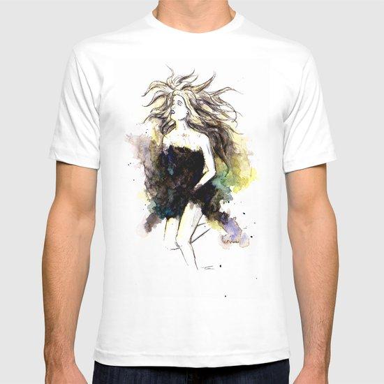 Watercolor Girl T-shirt