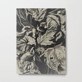 Fall Time Bouquet Metal Print