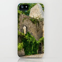 Old Castle Wall Ruin iPhone Case