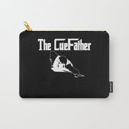 The Cuefather 8 Ball Pool Billiard Player Snooker Carry-All Pouch