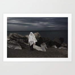 The storm chaser Art Print