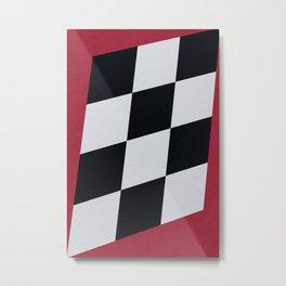 Winner / Race Finished Metal Print