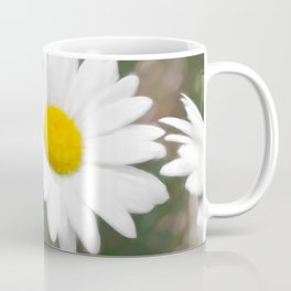 Daisies flowers in painting style 6 Coffee Mug