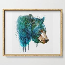 Bear Head Serving Tray