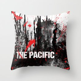 The Pacific Throw Pillow
