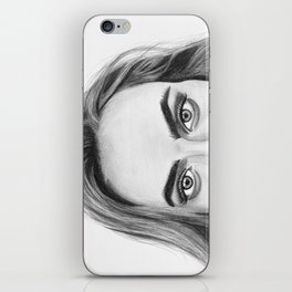 Cara Delevigne II iPhone Skin