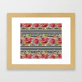 Elegant Christmas - apple, cinnamon & rose Framed Art Print