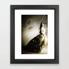 Are You There? Framed Art Print