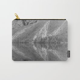 Silver Landscape At Lake Bohinj Carry-All Pouch