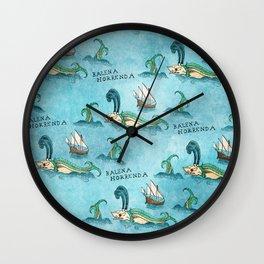 Balena Horrenda Wall Clock