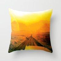 safari Throw Pillows featuring Safari by very giorgious